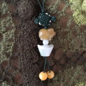 Jewelry - Authentic Jade Piglet Pig Necklace
